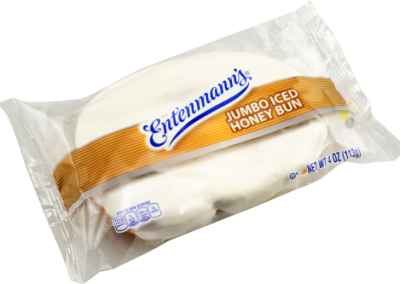 Entenmann's Iced Honey Bun