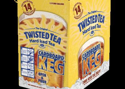 Twisted Tea Keg Box
